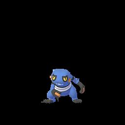 Sprite femelle de Cradopaud - Pokémon GO