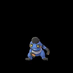 Pokémon cradopaud-haut-de-forme