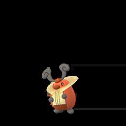 Sprite femelle de Crikzik - Pokémon GO