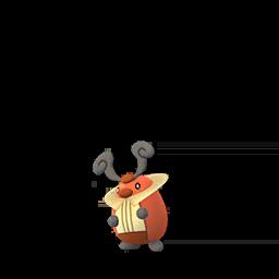 Sprite  de Crikzik - Pokémon GO