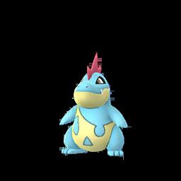 Modèle de Crocrodil - Pokémon GO