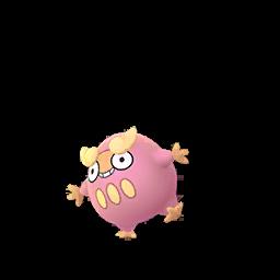 Sprite chromatique de Darumarond - Pokémon GO