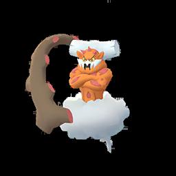 Sprite  de Démétéros - Pokémon GO