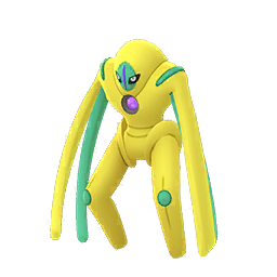Sprite chromatique de Deoxys (Défense) - Pokémon GO