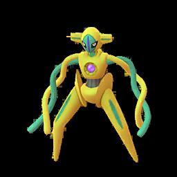 Sprite chromatique de Deoxys - Pokémon GO