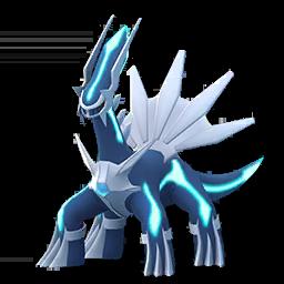 Modèle de Dialga - Pokémon GO
