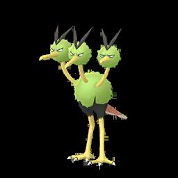 Sprite femelle chromatique de Dodrio - Pokémon GO