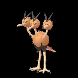 Sprite femelle de Dodrio - Pokémon GO