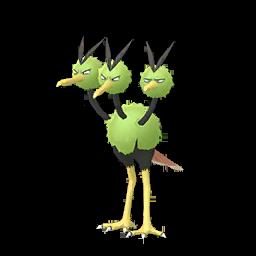 Sprite mâle chromatique de Dodrio - Pokémon GO