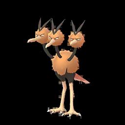 Modèle de Dodrio - Pokémon GO