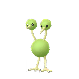 Sprite femelle chromatique de Doduo - Pokémon GO