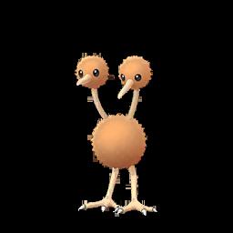 Sprite femelle de Doduo - Pokémon GO