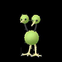 Modèle shiny de Doduo - Pokémon GO