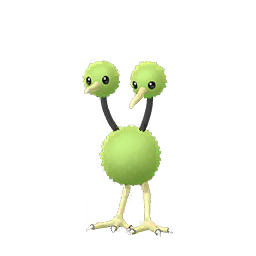 Sprite mâle chromatique de Doduo - Pokémon GO