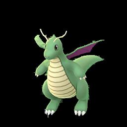 Sprite chromatique de Dracolosse - Pokémon GO