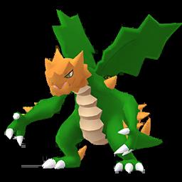 Sprite chromatique de Drakkarmin - Pokémon GO