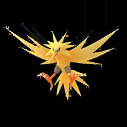 Fiche Pokédex de Électhor - Pokédex Pokémon GO