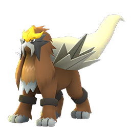 Sprite chromatique de Entei - Pokémon GO
