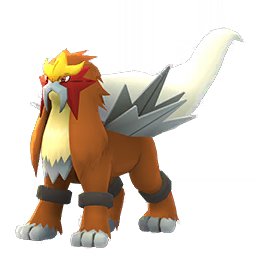 Fiche de Entei - Pokédex Pokémon GO