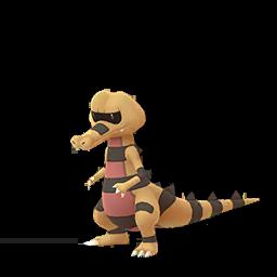 Sprite  de Escroco - Pokémon GO