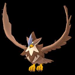 Sprite femelle chromatique de Étouraptor - Pokémon GO