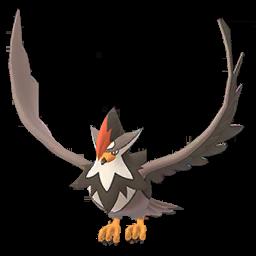 Sprite femelle de Étouraptor - Pokémon GO