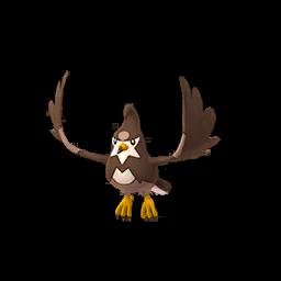Sprite femelle chromatique de Étourvol - Pokémon GO