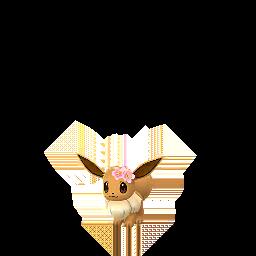 Fiche Pokédex de Évoli(fleur) - Pokédex Pokémon GO