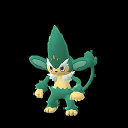Sprite chromatique de Feuiloutan - Pokémon GO