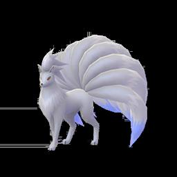 Modèle shiny de Feunard - Pokémon GO