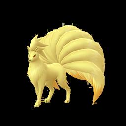 Modèle de Feunard - Pokémon GO