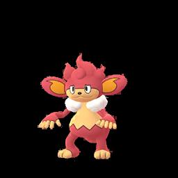 Sprite chromatique de Flamoutan - Pokémon GO