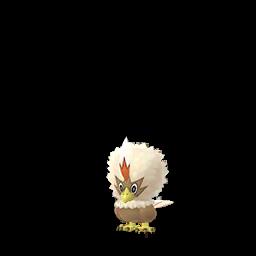 Sprite mâle chromatique de Furaiglon - Pokémon GO