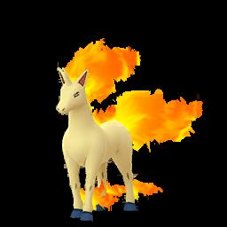 Modèle de Galopa - Pokémon GO