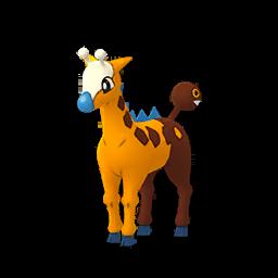 Sprite femelle chromatique de Girafarig - Pokémon GO