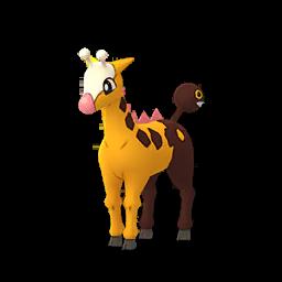 Sprite femelle de Girafarig - Pokémon GO