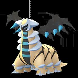 Sprite chromatique de Giratina (Forme Alternative) - Pokémon GO