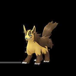 Modèle shiny de Grahyèna - Pokémon GO