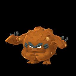 Sprite chromatique de Gravalanch (Forme d'Alola) - Pokémon GO