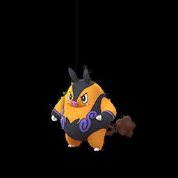 Sprite chromatique de Grotichon - Pokémon GO