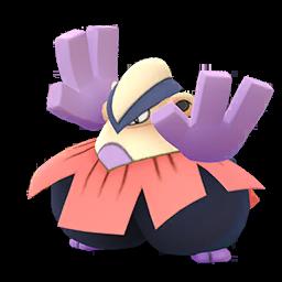 Sprite chromatique de Hariyama - Pokémon GO