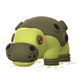 Sprite mâle chromatique de Hippodocus - Pokémon GO