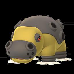 Modèle de Hippodocus - Pokémon GO