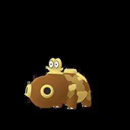 Sprite femelle de Hippopotas - Pokémon GO