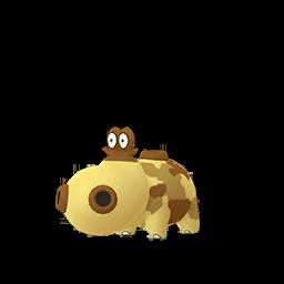 Modèle de Hippopotas - Pokémon GO