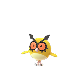 Sprite chromatique de Hoothoot - Pokémon GO