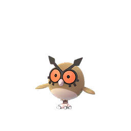 Hoothoot forme normale