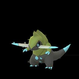 Sprite chromatique de Incisache - Pokémon GO