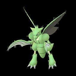 Sprite femelle de Insécateur - Pokémon GO