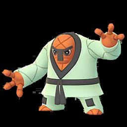 Sprite mâle chromatique de Judokrak - Pokémon GO